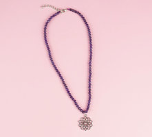 Amethyst Necklace - Crown Chakra