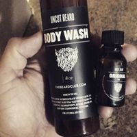 The Beard Club Body Wash 8oz Uncut Beard