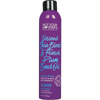 Not Your Mother's Naturals Linseed Chia Blend and French Plum Seed Oil Volume Boost Tapioca and Rice Dry Shampoo