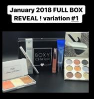 Boxycharm Entire January 2018 Box