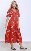 LOVE + Harmony flowing midi/ maxi dress