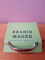 Beanie Magee - Aluminum Stamped Cuff