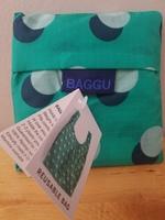 Baggu Standard: Green Disco Dots