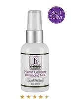 Be Natural Organics Niacin Complex Balancing Mist