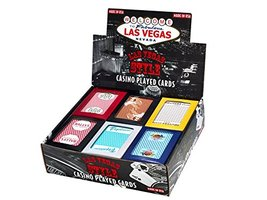 Las Vegas Style Casino Played Cards