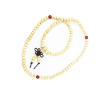 Sandalwood Mala Beads With Chinese Good Luck Knot