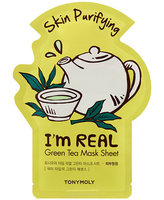TONYMOLY - I'm Real Green Tea Mask Sheet