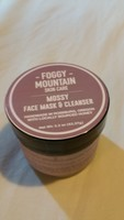 Foggy mountain mossy face mask and cleanser
