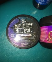 "Fortune Cookie Soap ""Mistress of All Evil"" Body Frosting"
