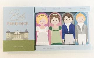 Jane Austen Page Flags