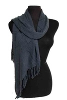 Wrapped in Love Scarf - Gray