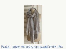SPUN by Subtle Luxury Speckled Metallic Scarf from POPSUGAR December 2014