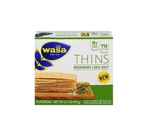 Rosemary & Sea Salt Wasa Thins