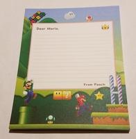 Super Mario Notepad