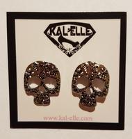 Pirates of the Caribbean Skull Earrings