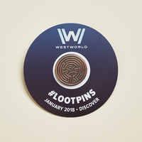 Westworld Loot Pin January 2018
