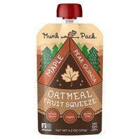 Munk Pack Maple Pear Quinoa Oatmeal Fruit Squeeze