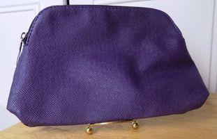 Nordstrom Purple Cosmetics Bag