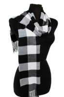 Posh Plaid Fleece Scarf