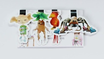 Magical Creatures Magnetic Bookmarks