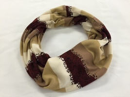 Touch of Leopard Infinity Scarf
