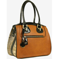 London Fog Sullivan Colorblock Satchel