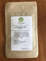 Lavender Lady Herbal Tea