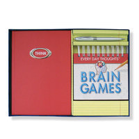 Brain Games Calendar, Pen and Journal Set