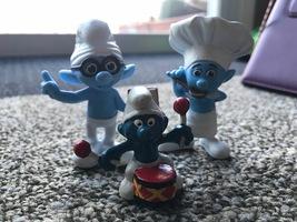 Vintage Smurf Figures