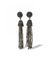 nOir™ Jewelry Tassel Earrings - 1 Pair of Clip-Ons