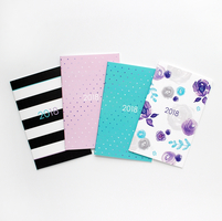 Ashley Shelley 2018 Monthly Notebook Planner