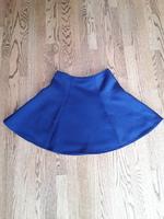 Flared navy skirt, size L