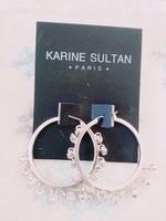 Karine Sultan Dangles Antique Earrings