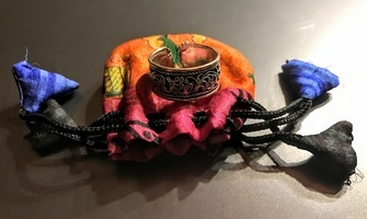 Ring in tiny bag from October Awaken Box