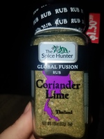 The Spice Hunter Global Fusion Rub in Coriander Lime