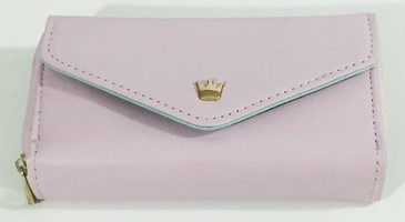 Crown small pouch (wallet/wristlet)