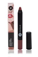"""Sugar Cosmetics - Matte As Hell Crayon Lipstick in """"Viola"""""""