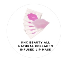 KNC Beauty All-Natural Collagen Infused Lip Mask 5 pack