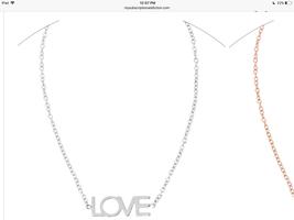 """Fff silver """"Love"""" bracelet"""