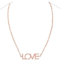 Maya Brenner Designs Love Necklace in Rose