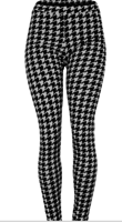 Houndstooth Jean Leggings