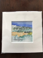 Luxe Provence Box Watercolor Art