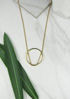 Jules Smith Open Circle Necklace
