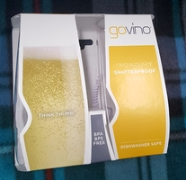 GoVino Shatterproof Flutes - Set of 2