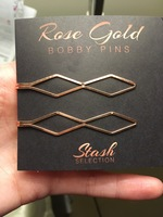 Stash Selection Rose Gold Bobby Pins