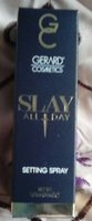 GERARD Cosmetics SLAY All Day Setting Spray (Cucumber)