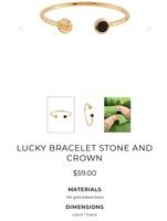 Les Nereides lucky crown/ strength bracelet