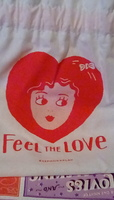 Play! By Sephora February 2018 Drawstring Bag (Feel The Love)