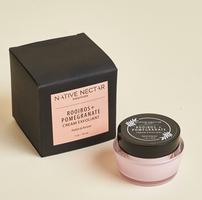 Native Nectar Botanicals Rooibos and Pomegranate Cream Exfoliant, 1 oz. – Retail Value $27.00