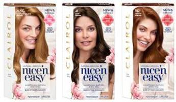 Coupon for free Clairol Nice n Easy hair color